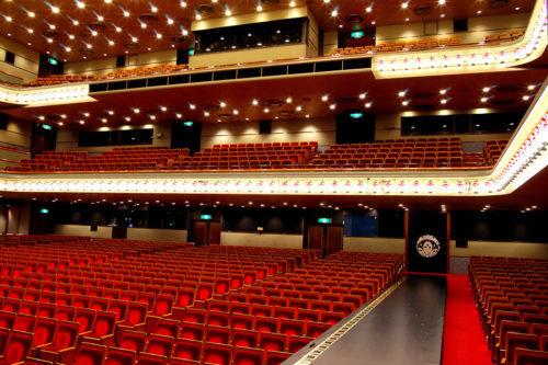 新橋演舞場の座席の見え方